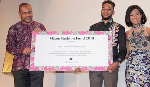 Vlisco Fashion Fund 2018 : Togolese Anoumou Djidjolé Placca wins first place