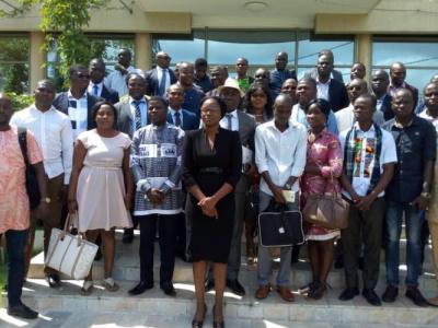 une-delegation-du-fnfi-est-a-la-semaine-africaine-de-la-microfinance-de-ouagadougou