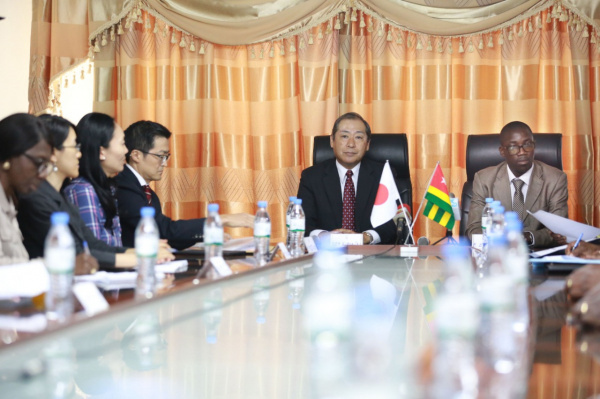 A delegation of Japanese firms is currently in Togo to explore investment opportunities