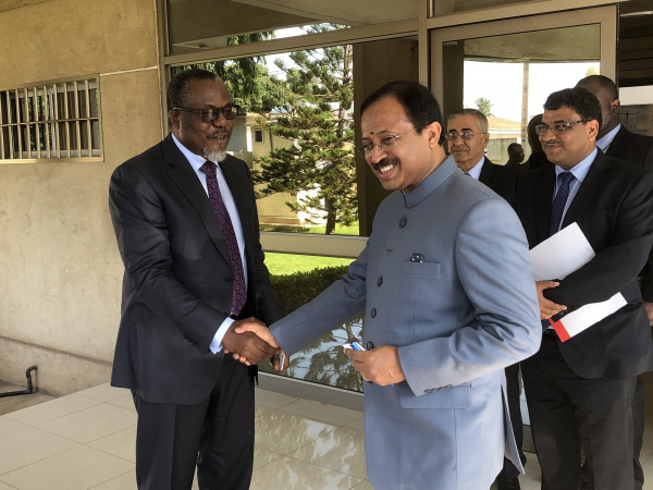 Togo and India to boost bilateral relations in energy, mining and digital economy sectors