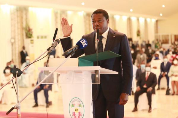 Faure Gnassingbé entame un nouveau mandat