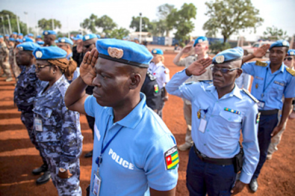 Togolese army gets massive financial support from Global Peace Operations Initiative