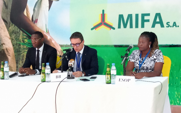 MIFA partners with BB Lomé and producers to bolster the rice sector