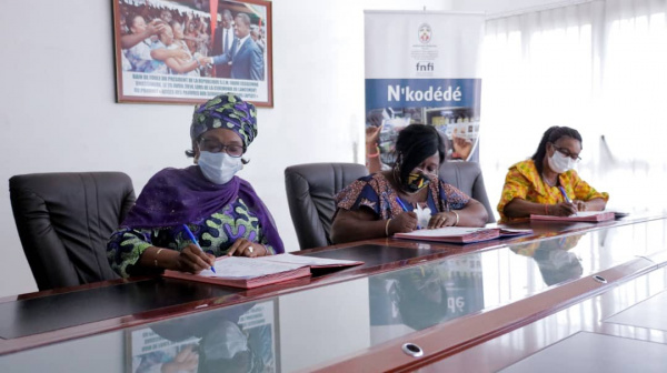 Fnfi : le nouveau produit  «Nkodédé» fait ses premiers bénéficiaires