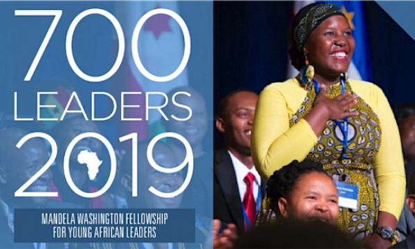 Here are the 10 young Togolese selected for the 2019 Mandela Washington Fellowship