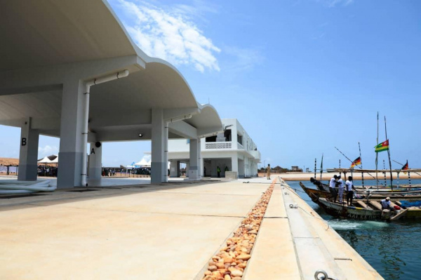 The Fish port of Lomé has resumed activities