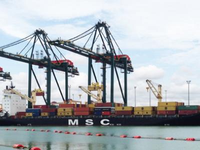 le-port-de-lome-relais-strategique-de-la-msc-dans-toute-l-afrique-pour-son-nouveau-service-de-fret