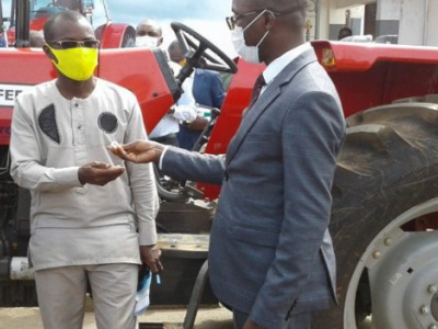 togo-farmers-receive-72-agricultural-tractors-from-the-minister-of-agriculture
