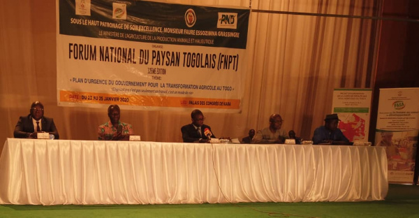 Togo: 12th national farmer forum begins