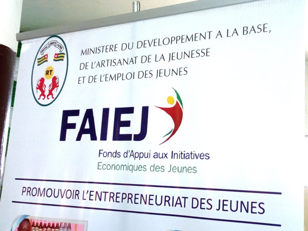 Togo : FAIEJ spent CFA500 million last year on 300 projects steered by the youth