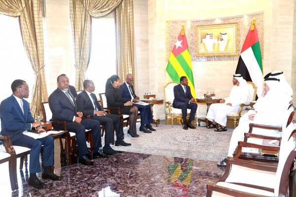 Togo inks deals with Emirati firms Al Dahra Holding and AMEA Power