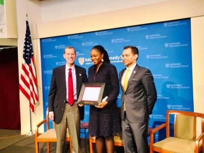 cina-lawson-1ere-femme-politique-africaine-a-decrocher-la-kennedy-school-harvard-award
