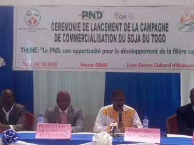 le-togo-lance-la-1ere-campagne-reglementee-de-commercialisation-du-soja
