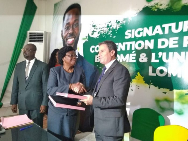 Brasserie du Bénin (BB) and the University of Lomé sign win-win partnership agreement