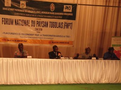 debut-du-forum-national-du-paysan-a-kara-fini-l-agriculture-de-subsistance