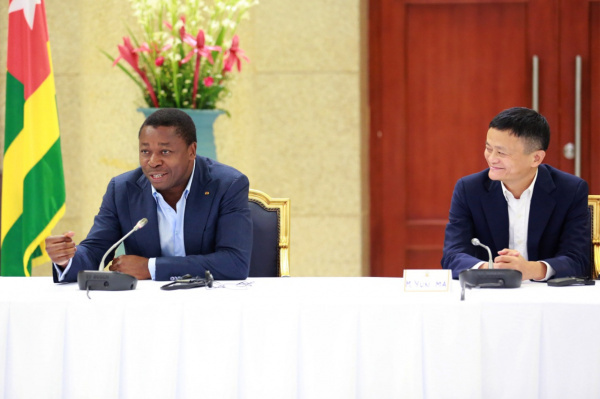Chinese tycoon Jack Ma says he will help boost e-payment in Togo