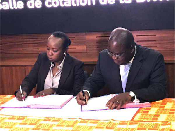 BRVM and IFC sign a cooperation agreement on corporate governance code