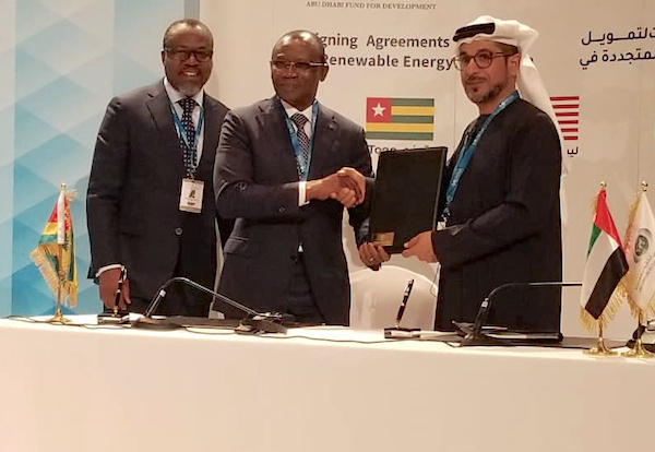 Abu Dhabi Fund for Development loans Togo $15M for Blitta solar plant project