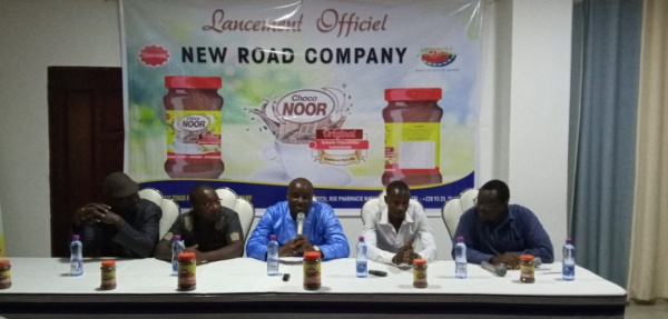 Togo: Local startup New Road Company reveals its made in Togo chocolate drink, Choco Noor