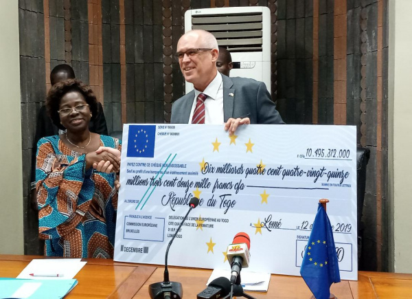 Togo: EU disburses the first tranche of funds to support the 2019-2020 budget