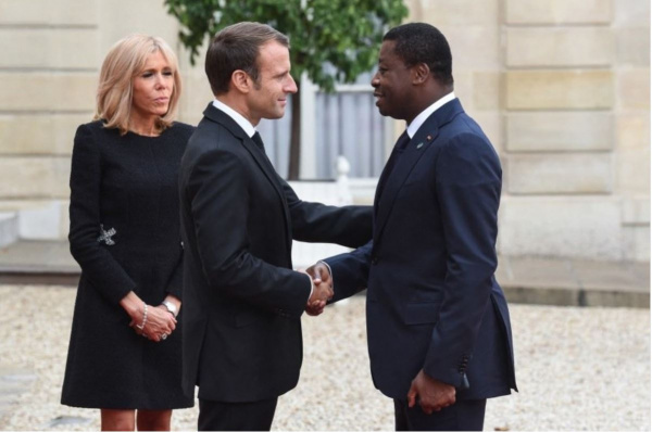 President Gnassingbe in France for an official visit