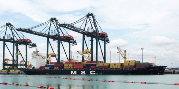 Transshipments at the port of Lomé grew almost 50 fold since 2012