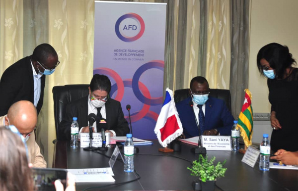 France provides Togo XOF2 billion for the Novissi programme