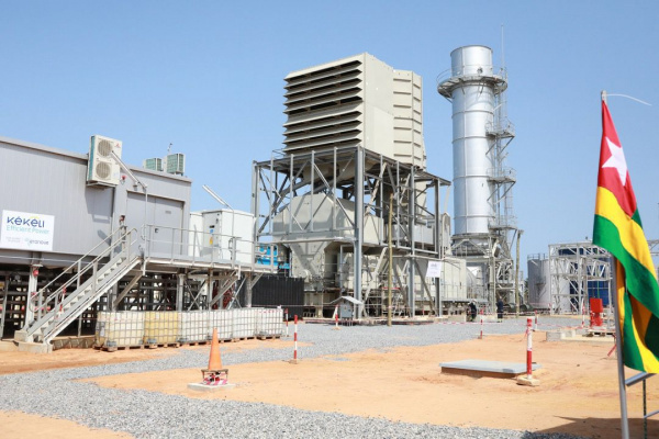 President Gnassingbe inaugurates the Kekeli Efficient Power thermal plant