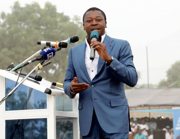 Faure Gnassingbé promises fully free caesarean sections ahead of coming elections