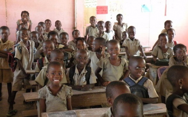 Togo: Enrolment rate in primary schools increased significantly over the past decade (2008-2018)