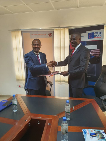 In Togo, GTA Assurances Vie and Coris bank launched together a new bancassurance product