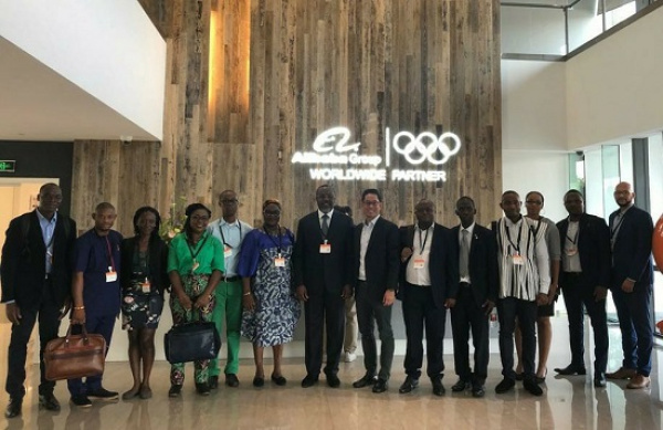 Fourteen young Togolese attend Alibaba's New Economy Workshop in China