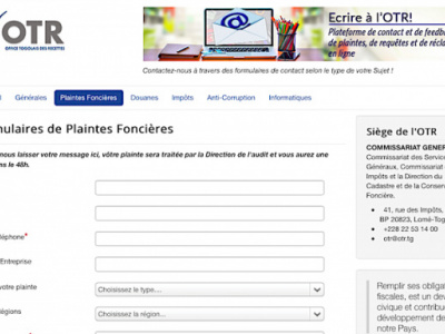 togo-otr-launches-online-platform-for-land-complaints-submission