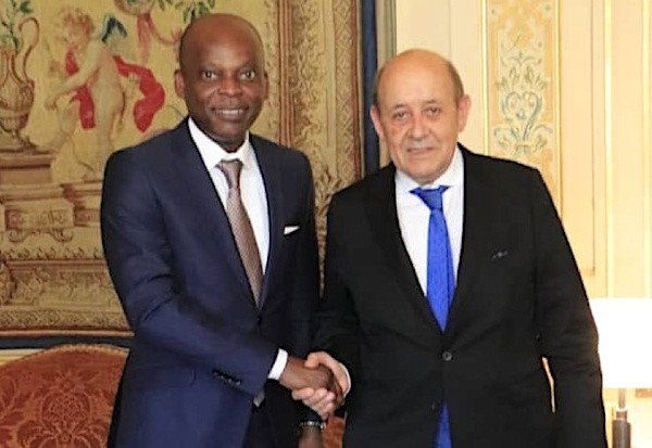 Ministers of foreign affairs of Togo and France discuss new ACP-EU agreement