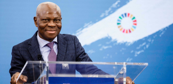 Togolese Gilbert Fossoun Houngbo, reappointed as head of IFAD