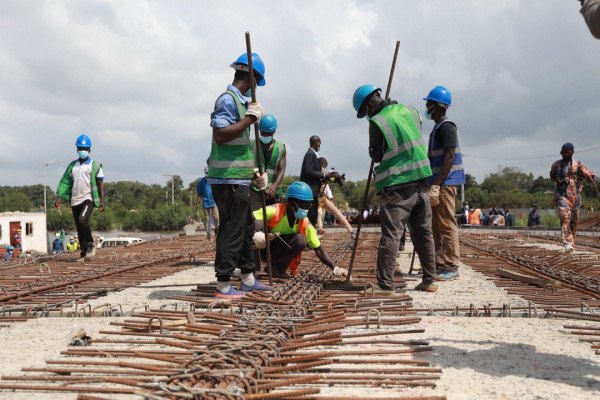 Rehabilitation works at the Lomé-Vogan-Anfoin road are 88% complete