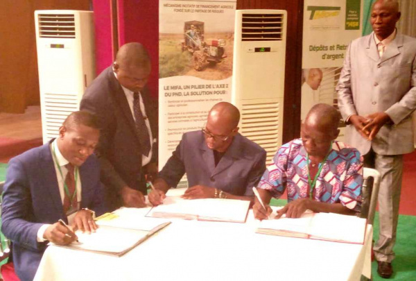 MIFA, BTCI and Saudi firm KFB supports agricultural mechanization in Togo
