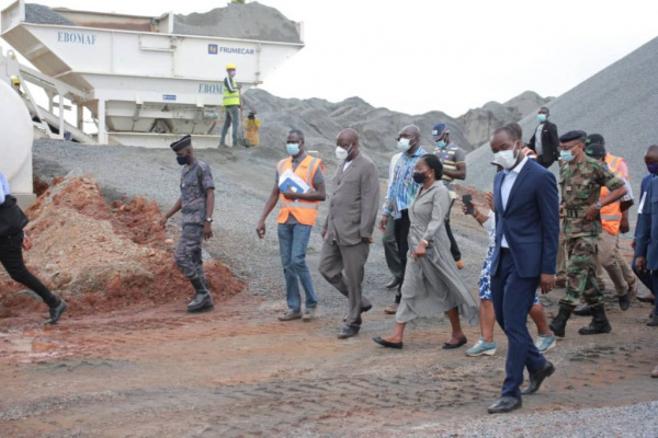 Lomé-Kpalimé road is 15% complete in five months of work